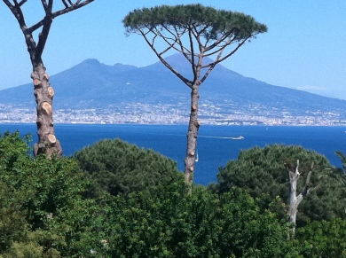 Mt Vesuvius, Naples, IT