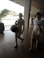 gorgeous airline hosts