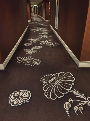 The Very long walk to the room