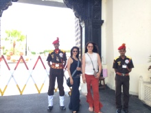 With the Guards