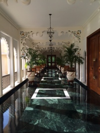 Lobby leading to Buffet