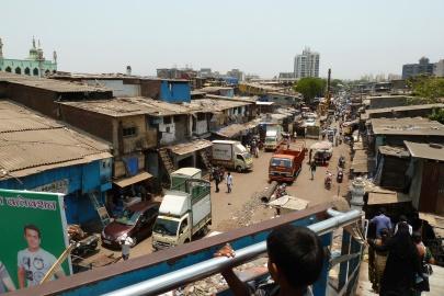 Entrance to the Slum