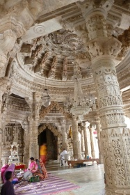 Intricate carvings everywhere
