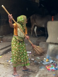 The Sweeper Class woman. To me a beautiful soul