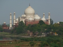 zoomed in Taj