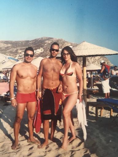 Enrique , Johann, and myself