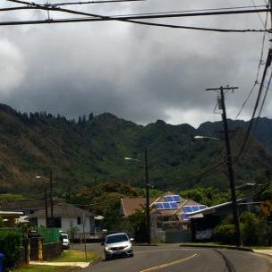 The lovely Ko'olau Mountains