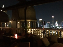 View from the secret extra roof top bar
