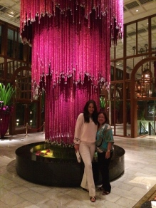 The Oriental Hotel's Lobby