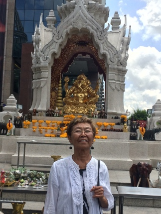 Ganesha outside of Central World