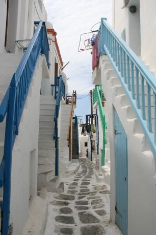Mykonos streets