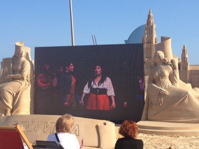 Opera Sand castle