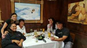 L-r Kanani, Aunty Toni, Me, Clint, Pili Aloha
